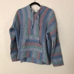 Soft beach sweater